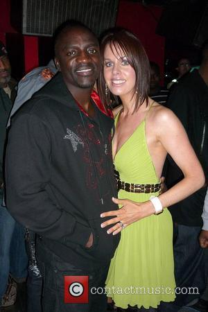 Akon and Dawn Redmond