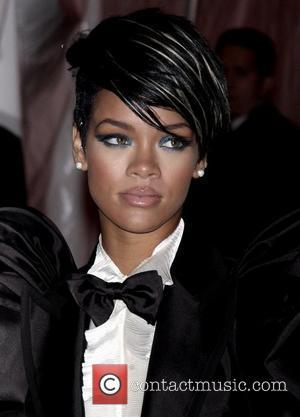 Rihanna Hits The Red Carpet At New York's Met Gala
