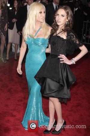 Donatella Versace and Versace
