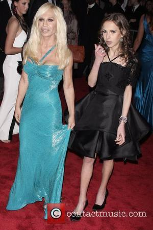Donatella Versace, Allegra Versace 'The Model As Muse: Embodying Fashion' Costume Institute Gala at The Metropolitan Museum of Art -...