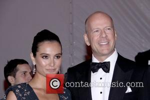 Bruce Willis and Emma Hemming
