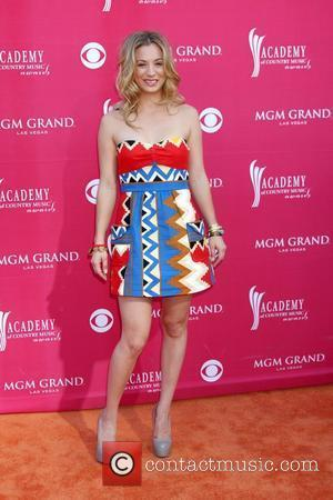 Kaley Cuoco  44th Academy of Country Music Awards Arrivals at MGM Grand Hotel Casino - Arrivals Las Vegas, Nevada...