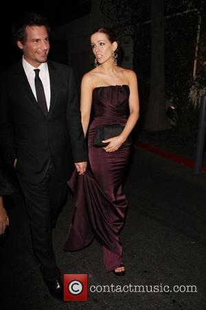Len Wiseman and Kate Beckinsale 14th Annual Critics' Choice Awards After Party held at the Viceroy Santa Monica - Outside...