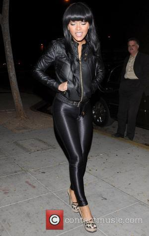 Megan Good  outside the Crow Bar Los Angeles, California - 14.01.09