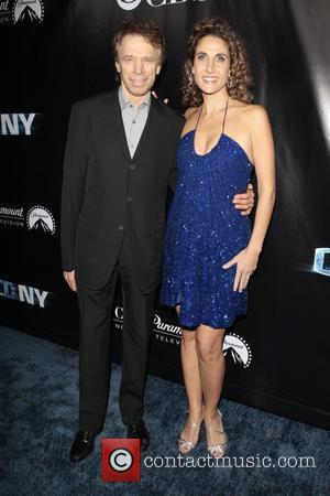 Gary Sinise and Melina Kanakaredes The 'CSI: New York' 100th show party at the Edison Hotel - Arrivals Los Angeles,...