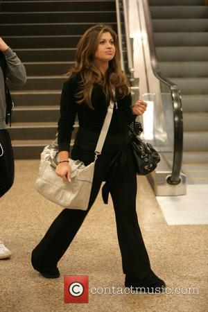 Danielle Fishel arriving at Salt Lake City airport for the 2009 Sundance Film Festival, Day 2 Salt Lake City, Utah...