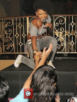D. Woods D. Woods of Danity Kane and Mika Means perform live at Club Sobe Live Miami. Miami Beach, Florida,...
