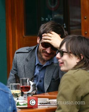 Famke Jansen having lunch with her boyfriend at Da silvano New York City, USA - 28.03.09