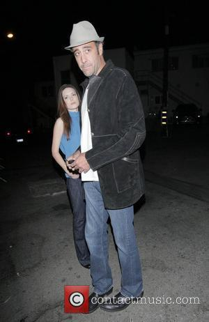 Brad Garrett Leaving Dan Tanas restaurant Hollywood, California - 11.11.08