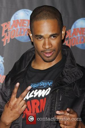 Damon Wayans Jr. promotes his new film 'Dance Flick' with a memorabilia donation ceremony at Planet Hollywood in Times Square...