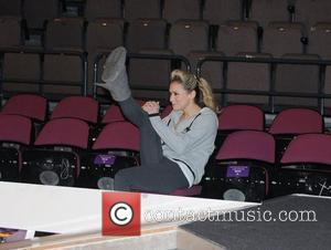 Jessica Taylor 'Dancing on Ice' photocall held at the Manchester Evening News Arena Manchester, England - 16.04.09