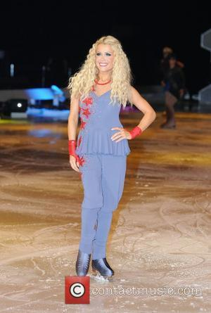 Melinda Messenger 'Dancing on Ice' photocall held at the Manchester Evening News Arena Manchester, England - 16.04.09
