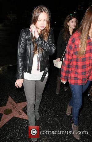 Daveigh Chase arriving at Bardot Los Angeles, California - 16.02.09