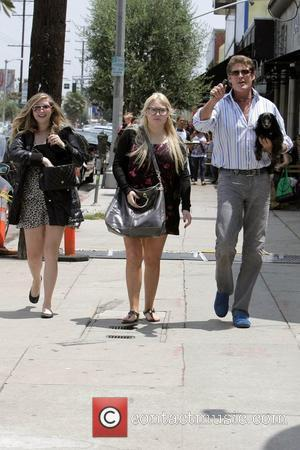 David Hasselhoff, His Daughters Hayley Hasselhoff and Taylor-ann Hasselhoff