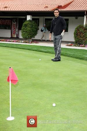Carlos Bernard 10th Annual Oscar de la Hoya Celebrity Golf Classic held at Lakeside Golf Club in Burbank Los Angeles,...