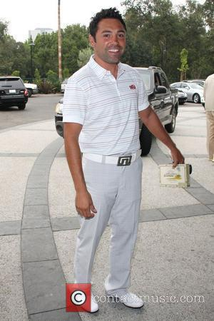 Oscar de la Hoya  Oscar de la Hoya 10th Annual Celebrity golf classic  Held at The Lakeside Golf...