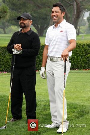 Oscar de la Hoya, Joe Pesci 10th Annual Oscar de la Hoya Celebrity Golf Classic held at Lakeside Golf Club...