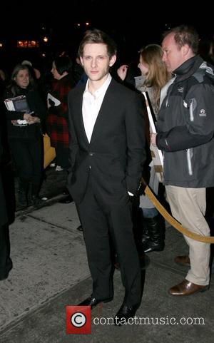 Jamie Bell attends the New York screening of 'Defiance' New York City, USA - 12.01.09