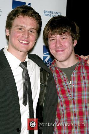 Jonathan Groff and John Gallagher