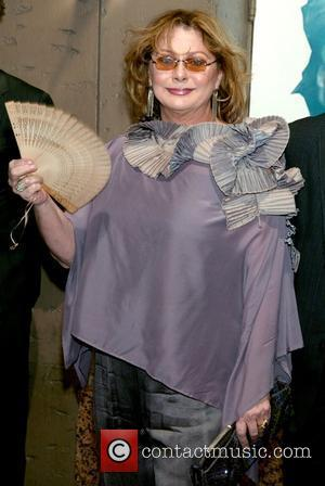 Elizabeth Ashley at the opening night of the Broadway play 'Desire Under the Elms' at the St. James Theatre New...