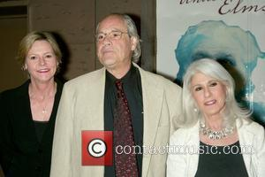 Robert Klein and Jamie deRoy at the opening night of the Broadway play 'Desire Under the Elms' at the St....