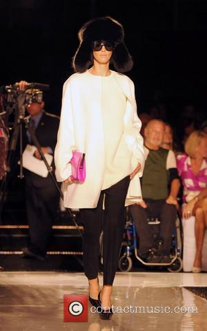 Model and Michael Kors