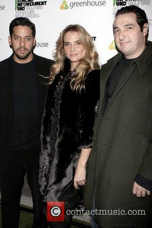 David Blaine, Nicola Breytenbach and Ben Steiner Diamonds Give 2008 at Greenhouse - Arrivals New York City, USA - 19.11.08