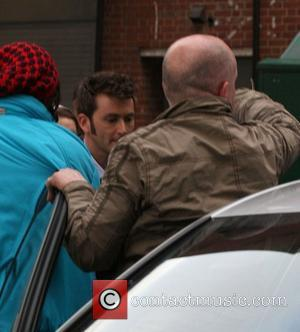 David Tennant leaving a nightclub after filming scenes for 'Doctor Who' Cardiff, Wales - 29.04.09