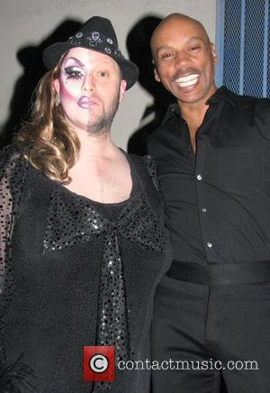 Ru Paul and guest attend Ru Paul's Drag Race Premiere Party Hollywood, California - 15.01.09