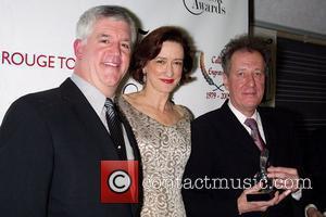 Gregory Jbara, Haydn Gwynne and Geoffrey Rush