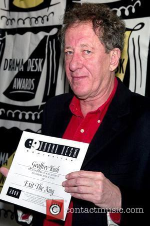 Geoffrey Rush Drama Desk Nominees Cocktail Party held at Il Bastardo Ristorante New York City, USA - 01.05.09