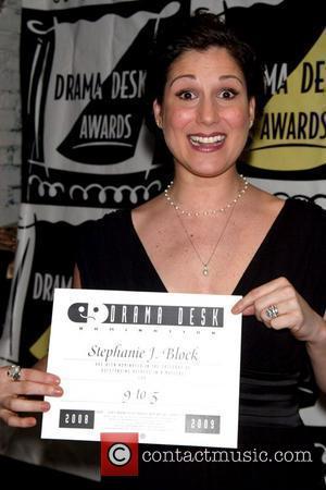 Stephanie J. Block Drama Desk Nominees Cocktail Party held at Il Bastardo Ristorante New York City, USA - 01.05.09