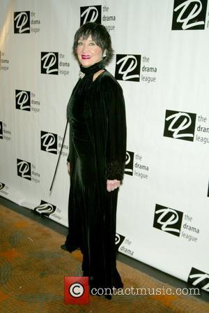 Chita Rivera at The Drama League's 25th Annual All-Star Benefit Gala held at the Rainbow Room New York City, USA...