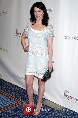 Lauren Graham wearing Diane von Furstenberg The 75th Annual Drama League Awards Ceremony and Luncheon at the Marriott Marquis Hotel...