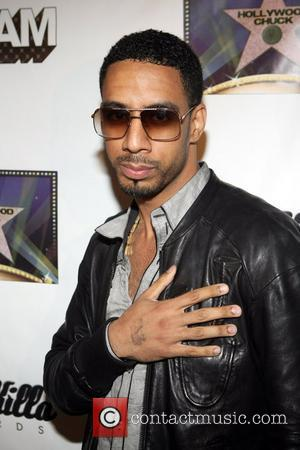 Ryan Leslie  The Dream's Black Tie Album Release Party held at The Hiro Ballroom.  New York City, USA...