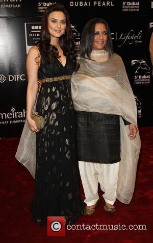 Preity Zinta and Deepa Mehta
