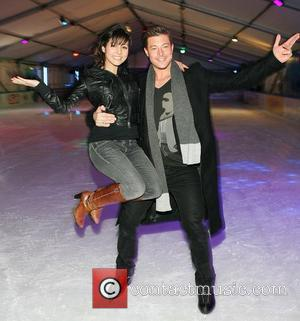 Roxanne Pallet and Duncan James launch the special opening Christmas extravaganza at Dublin on Ice in Smithfield Dublin, Ireland -...