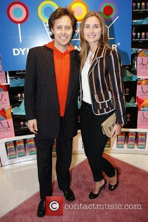 David Lauren and Lauren Bush