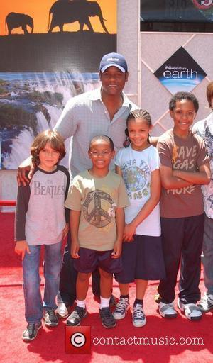 Blair Underwood, Guests World Premiere of 'Disneynature: earth' held at El Capitan theatre Hollywood, California - 18.04.09