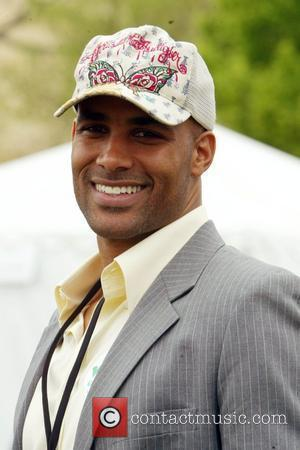 Boris Kodjoe and President Of The Sophie's Voice Foundation