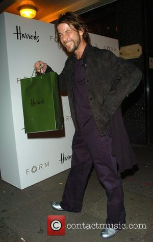 Jay Kay Petra Ecclestone launches her debut menswear collection Form at Harrods - departures London, England - 02.10.08
