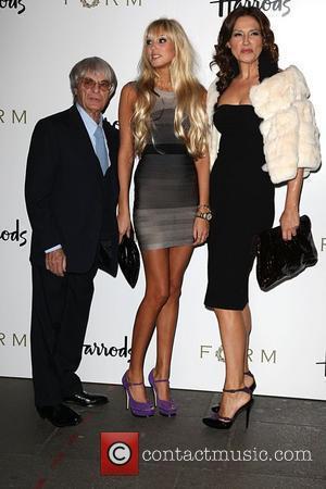 Bernie Ecclestone, Petra Ecclestone and Slavica Ecclestone Petra Ecclestone launches her debut menswear collection at Harrods London, England - 02.10.08