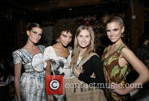 Lauren Bush and Models