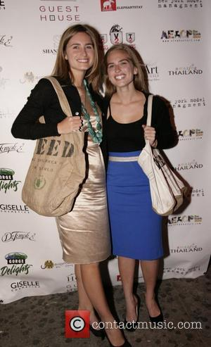 Lauren Bush and Ashley Bush