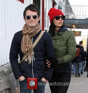 Elijah Wood and Girlfriend Pamela Racine