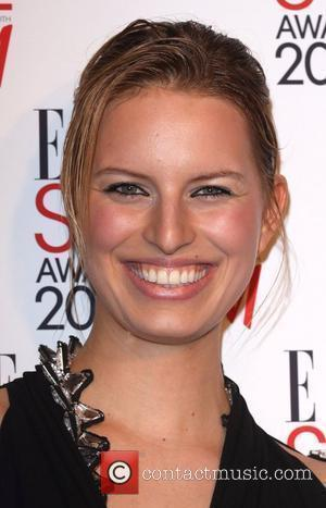 Karolina Kurkova Elle Style Awards held at Big Sky London - Red Carpet Arrivals London, England - 09.02.09