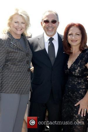 Candice Bergen, Emilio Estefan and Gloria Estefan
