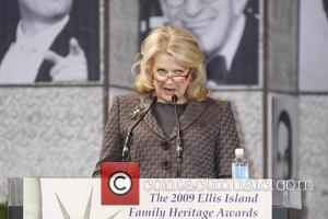 Candice Bergen Ellis Island Family Heritage Awards to celebrate immigration and the American tapestry at the great hall in the...