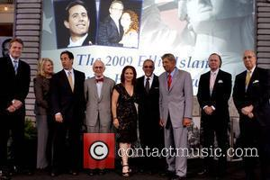 Tom Strickland, Candice Bergen, Gloria Estefan, Jerry Seinfeld and Seinfeld