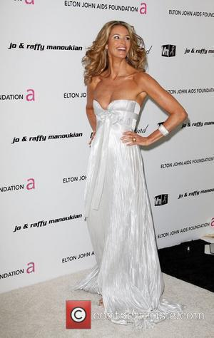 Elle Macpherson 17th Annual Elton John AIDS Foundation Academy Awards (Oscars) Viewing Party  held at the Pacific Design Center...